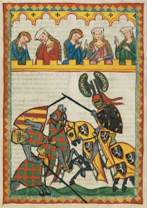 Codex Manesse, f. 52r.
